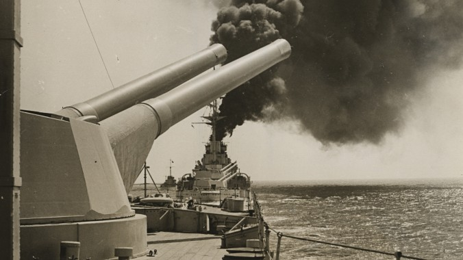 The Battles of Coronel and Falkland Islands naval guns