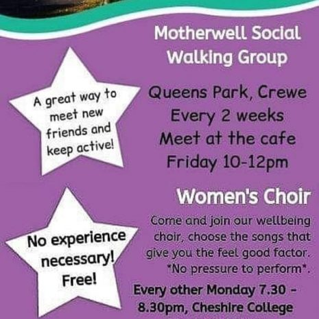 Motherwell Walking and Choir Groups