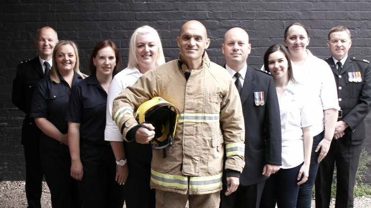 Cheshire Fire Service - Group Shot